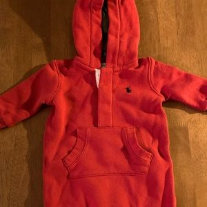 Polo Hoodie Sweatsuit 3M Red